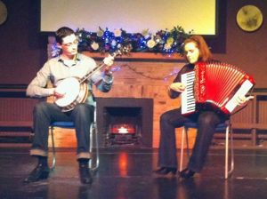 Daithí Kearney and Adèle Commins