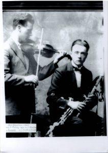 Leo Rowsome and Séamus MacMathúna
